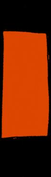 Rote solide Kerze