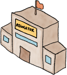 Financial regulator building