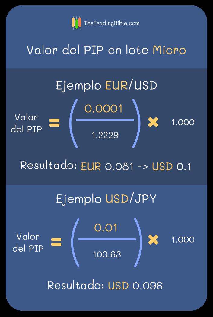 Valor PIP Lote Micro