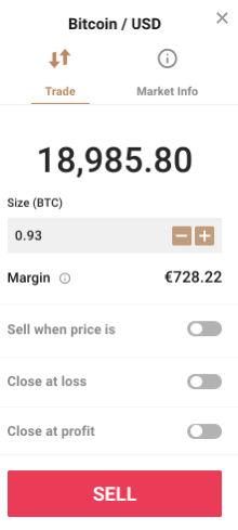Sell Market Order