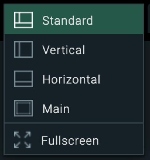 XTB Web Plattform Ansichten Selektor